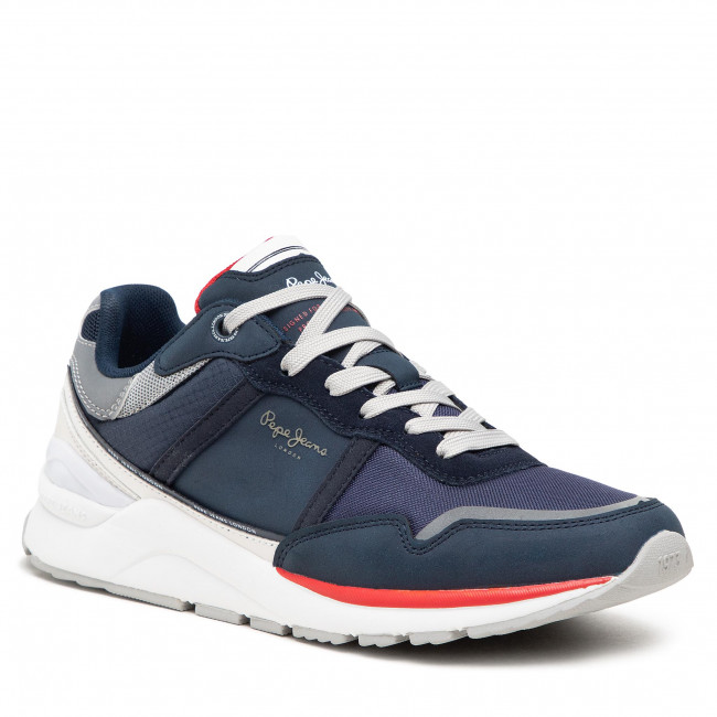 Sneakersy PEPE JEANS - X20 Basic Half PMS30782 Navy 595