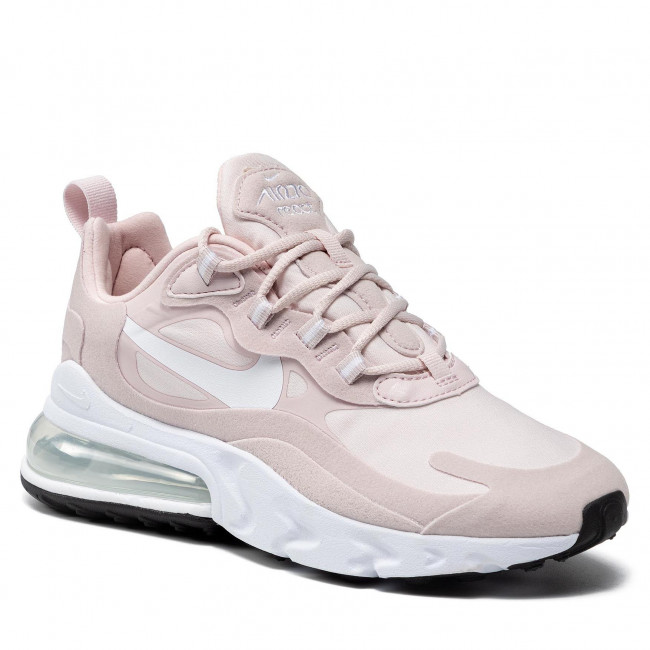 Buty NIKE - W Air Max 270 React CT1287 600 Barely Rose/White/Black