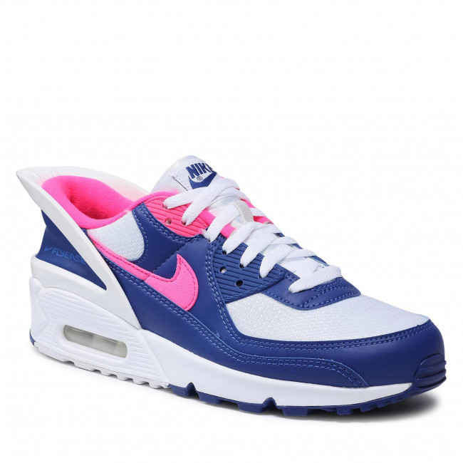 Buty NIKE - Air Max 90 Flyease CU0814 101 White/Hyper Pink/White
