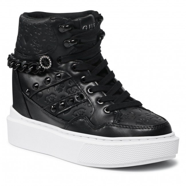 Sneakersy GUESS - FL8ARY SMA12 BLACK