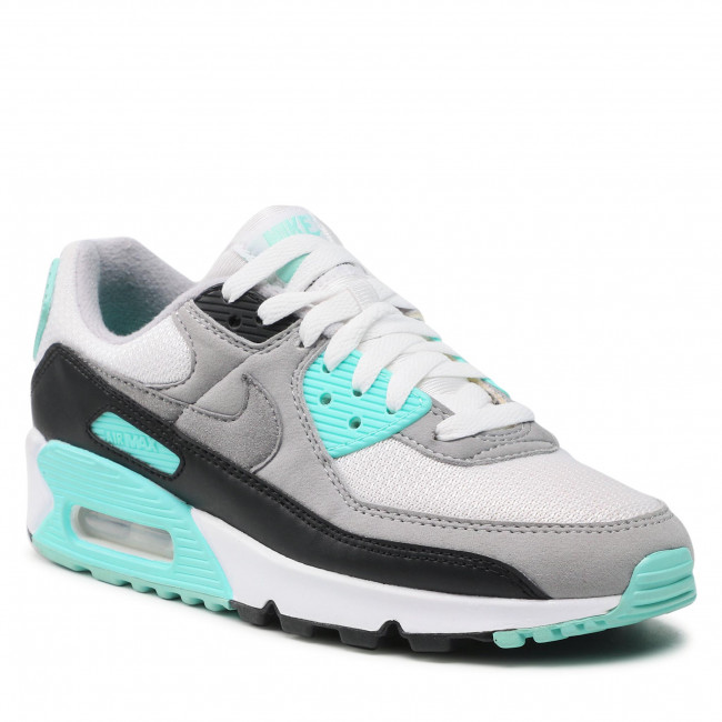 Buty NIKE - Air Max 90 CD0490 102 White/Particle Grey/Hyper Turq