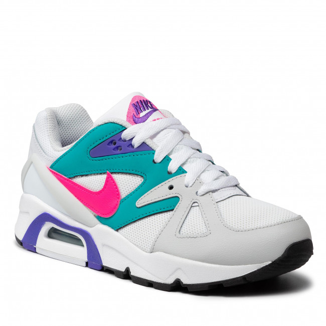 Buty NIKE - Air Structure CZ1529 100 White/Hyper Pink/Turbo Green