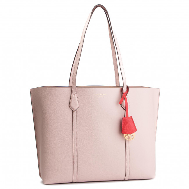 Torebka TORY BURCH - Perry Triple-Compartment Tote 53245 Shell Pink 652