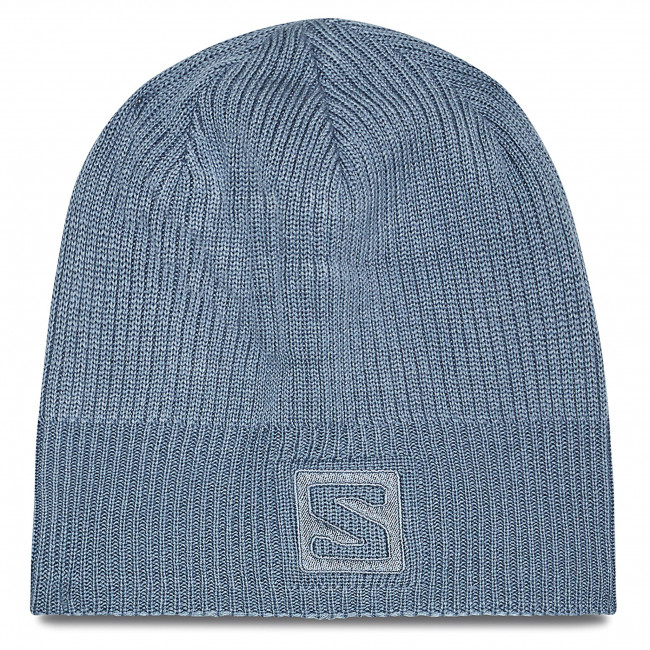 Czapka SALOMON - Logo Beanie C14209 10 S0 Ashley Blue