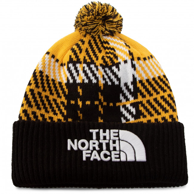 Czapka THE NORTH FACE - Retro Tnt Pom Bne NF0A3FMPUU41 Summit Gold Heritage