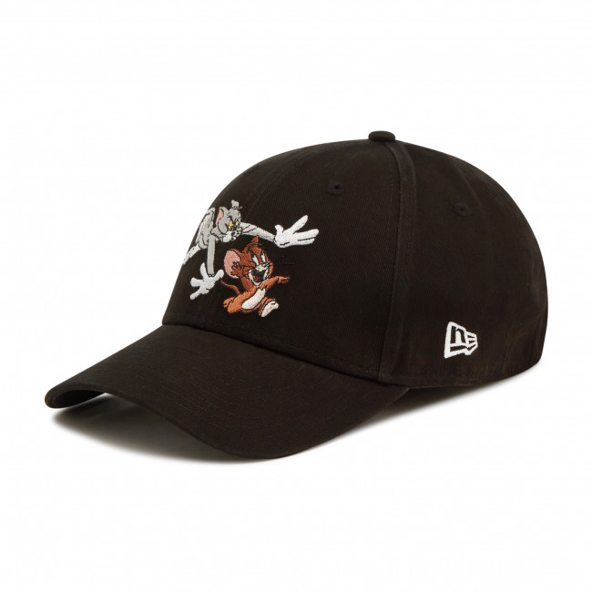 Czapka z daszkiem NEW ERA - Tom And Jerry Black 9Forty Cap 60112666 Czarny