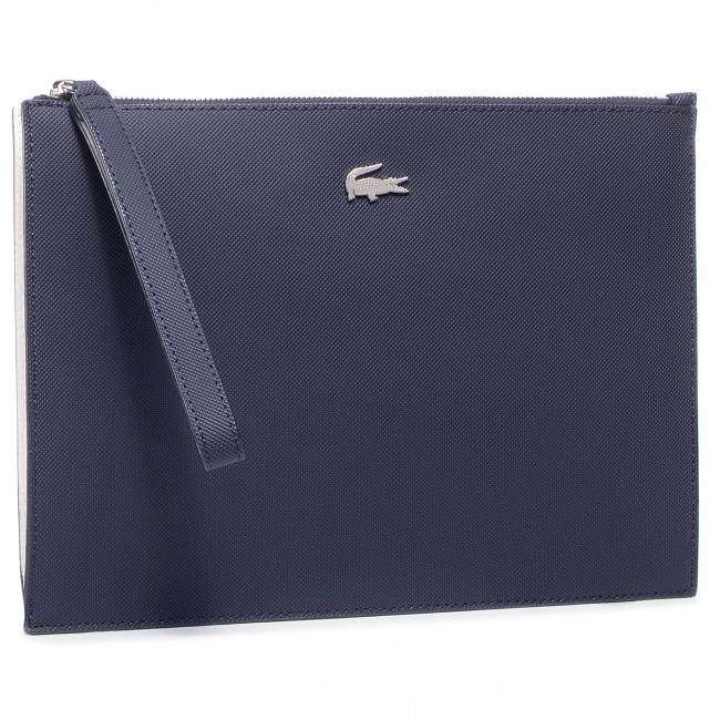 Torebka LACOSTE - Clutch NF2791AA Clay/Pink Madras C93