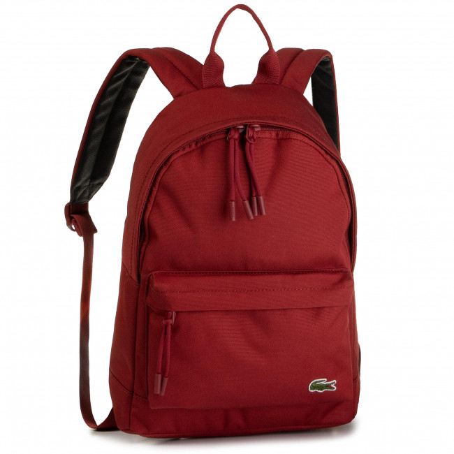 Plecak LACOSTE - S Backpack NH2860NE  Red Dahlia C62