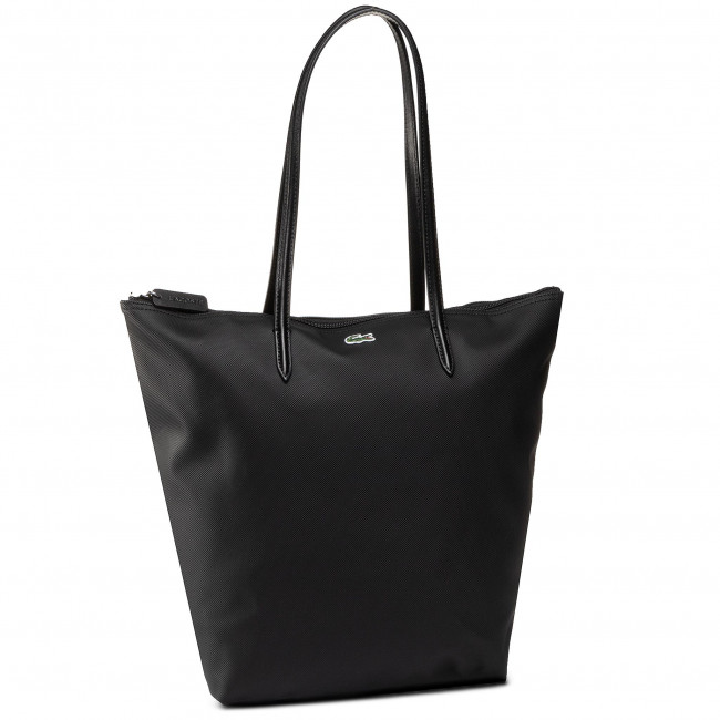 Torebka LACOSTE - Vertical Shopping Bag NF1890PO  Black 000