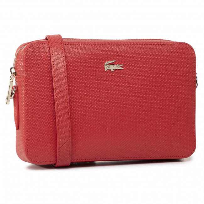 Torebka LACOSTE Square Crossover Bag NF2731CE Bittersweet D50