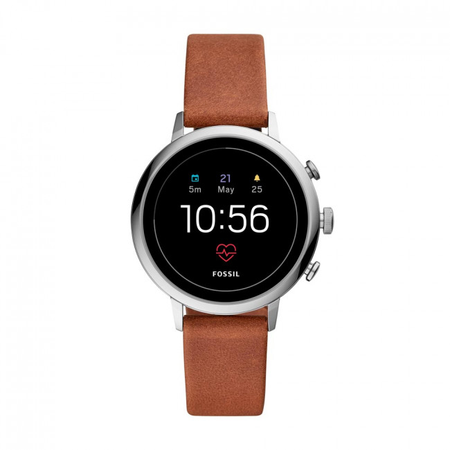 Smartwatch FOSSIL - Venture Hr FTW6014 Brown/Silver