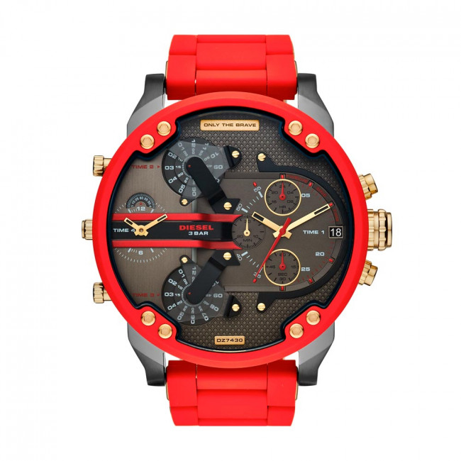 Zegarek DIESEL - Mr. Daddy 2.0 Chronograph DZ7430 Red/Black