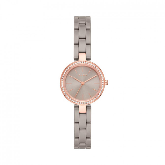 Zegarek DKNY - City Link NY2916 Rose Gold/Grey