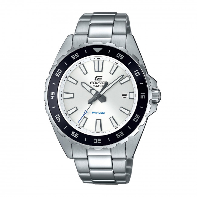 Zegarek CASIO - Edifice EFV-130D-7AVUEF Silver/Black