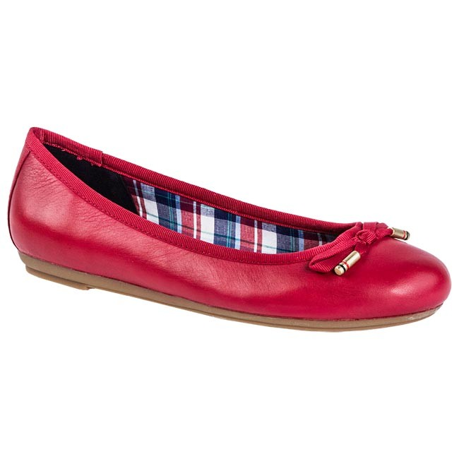 Balerinos TOMMY HILFIGER - FW56815244 Tango Red 611