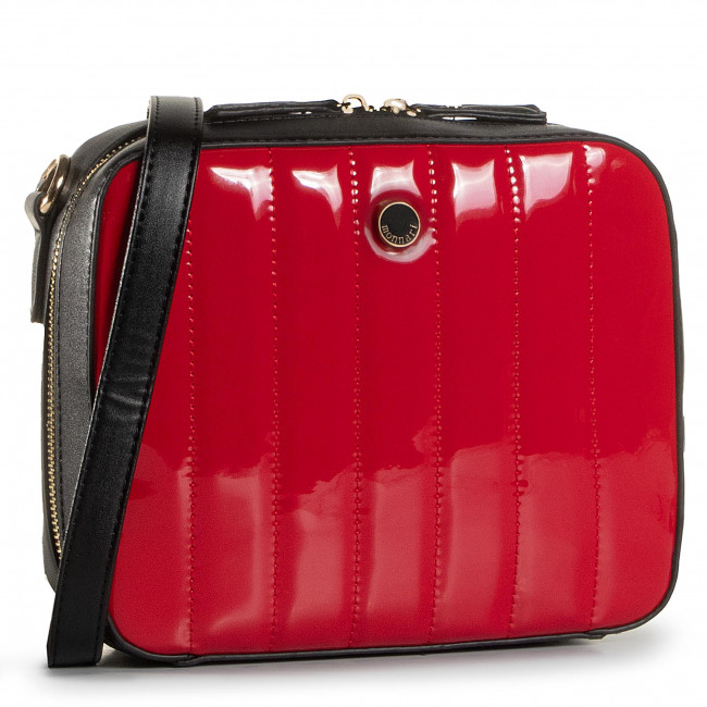 Torebka MONNARI - BAG4220-M20 Black With Red