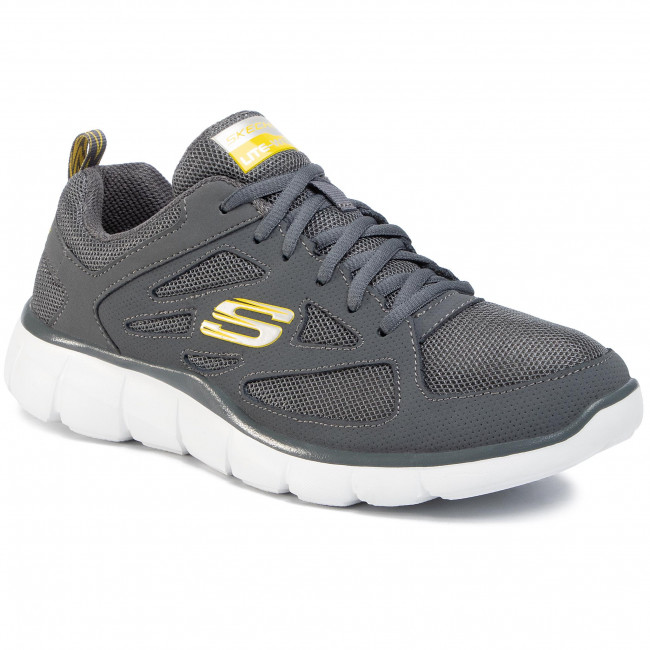 Buty SKECHERS - Strategic 999789 CHA Grey