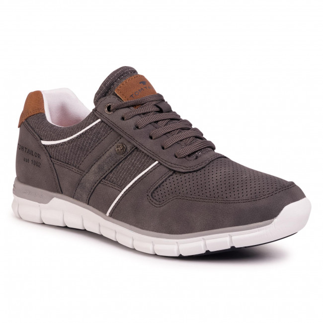 Sneakersy TOM TAILOR - 808190300 Grey