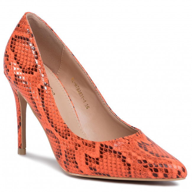 Szpilki DEEZEE - KL-HT92831-1 Dark Orange