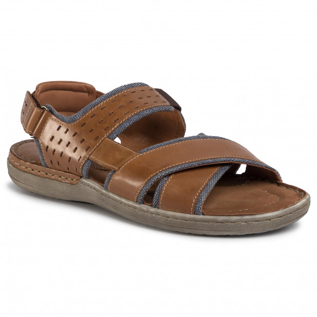 Sandały LASOCKI FOR MEN - Mb-Marvin-20 Brown