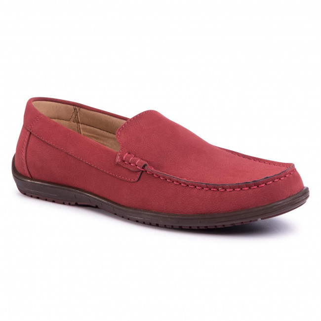 Mokasyny LANETTI - MB-BUSH-04L Red