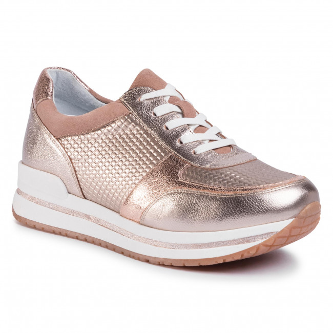 Sneakersy GINO ROSSI - RST-LIKE-01 Golden
