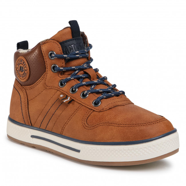Sneakersy ACTION BOY - CP07-91187-01(IV)CH  Camel