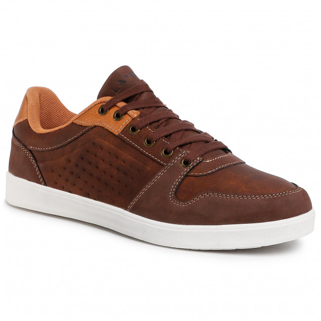 Sneakersy LANETTI - S20C751A-1 Brown