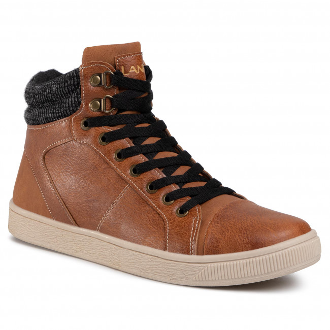Sneakersy LANETTI - MP40-9063Y Brown