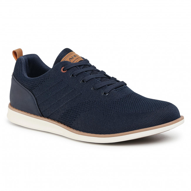 Sneakersy LANETTI - MP07-02108-01 Navy