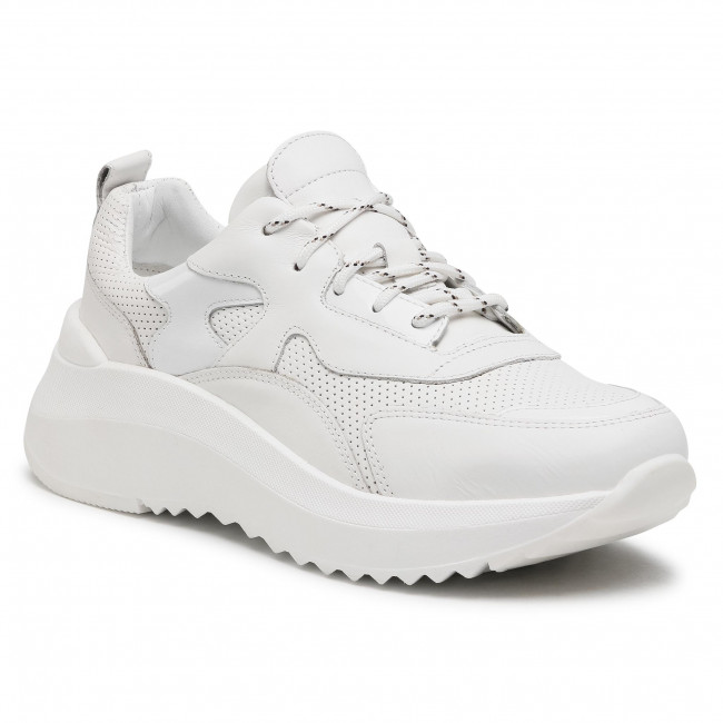 Sneakersy GINO ROSSI - RST-DERBY-01 White