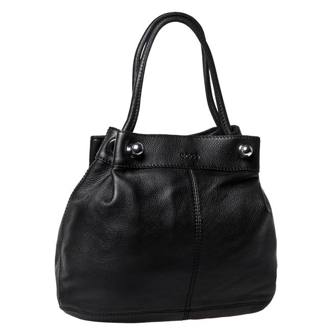 Torebka ECCO - Cabo Drawstring Bag 910447990000 Black