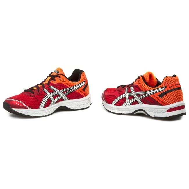 Buty ASICS Gel Oberon 8 T422N FlameWhiteFlash Orange 2101