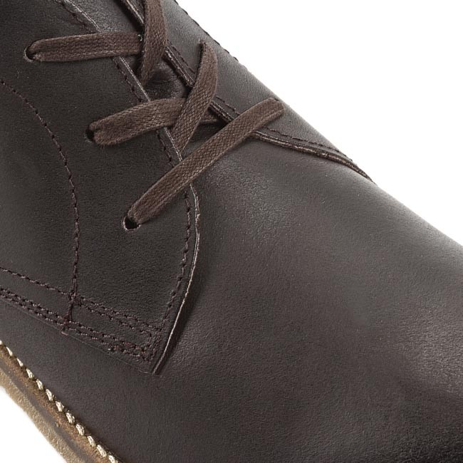 official photos 6d20f bb9b0 Trzewiki STRELLSON - Howard Mid Lace 4010001401-702 Dark Brown