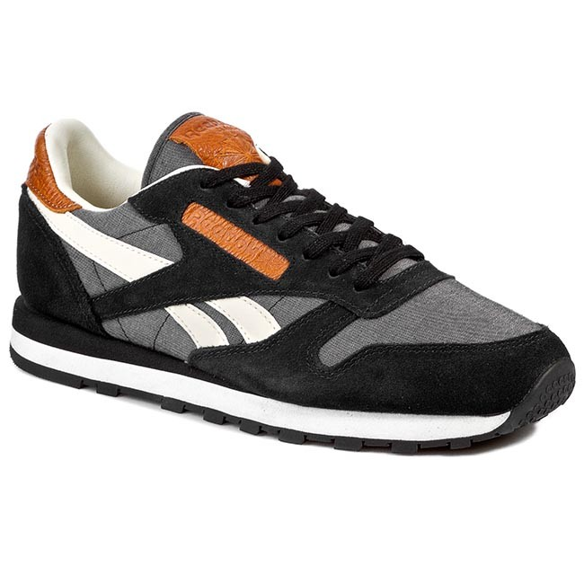 Buty Reebok Cl Leather Ch M45452 BlackWhiteChalk