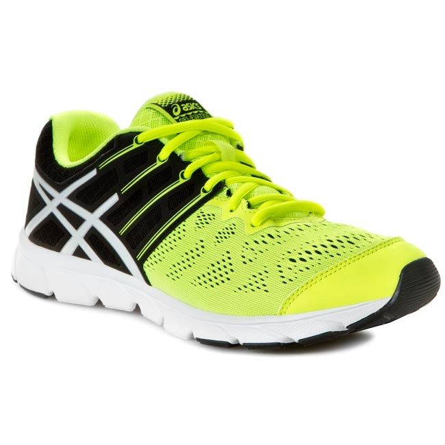Buty ASICS Gel Evation T42RQ Flash YellowWhiteBlack