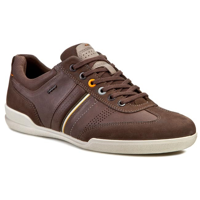 Sneakersy ECCO - Enrico 53759458500  Mocha/Coffee