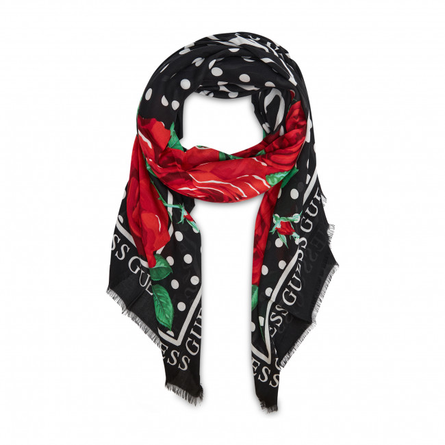 Chusta GUESS - Not Coordinated Scarves AW8611 MOD03 BLA