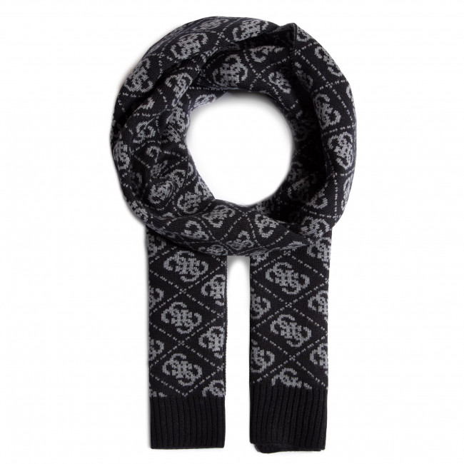 Szal GUESS - Vezzola Scarves AM8720 WOL03 BLA