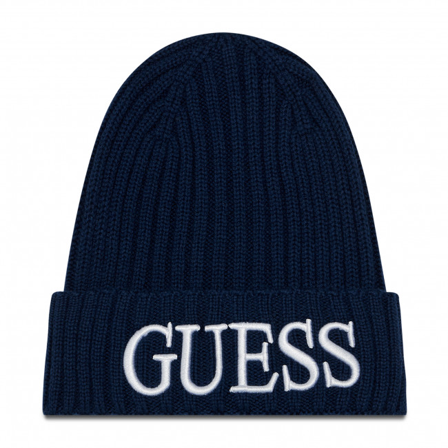 Czapka GUESS - Quarto Hats AM8724 WOL01 BLU