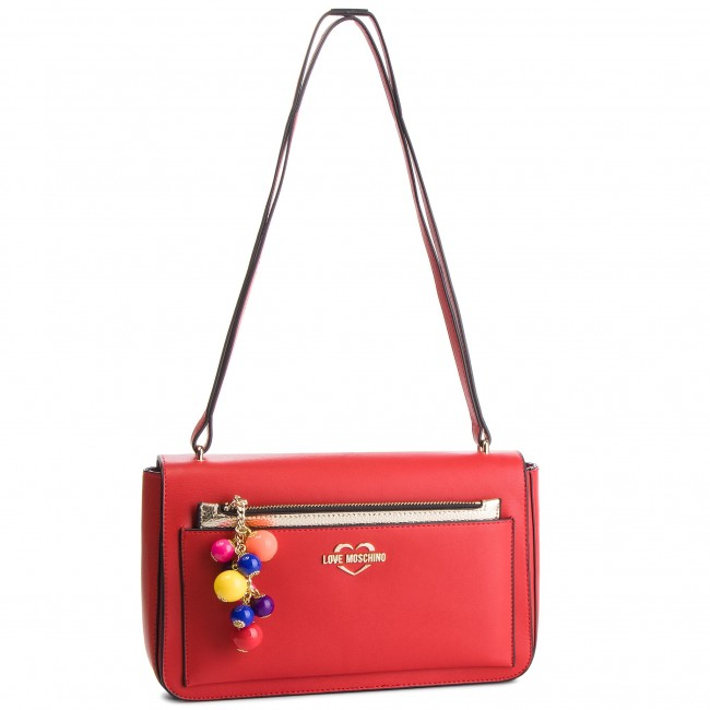 Rankinė LOVE MOSCHINO - JC4108PP17LM0500  Rosso