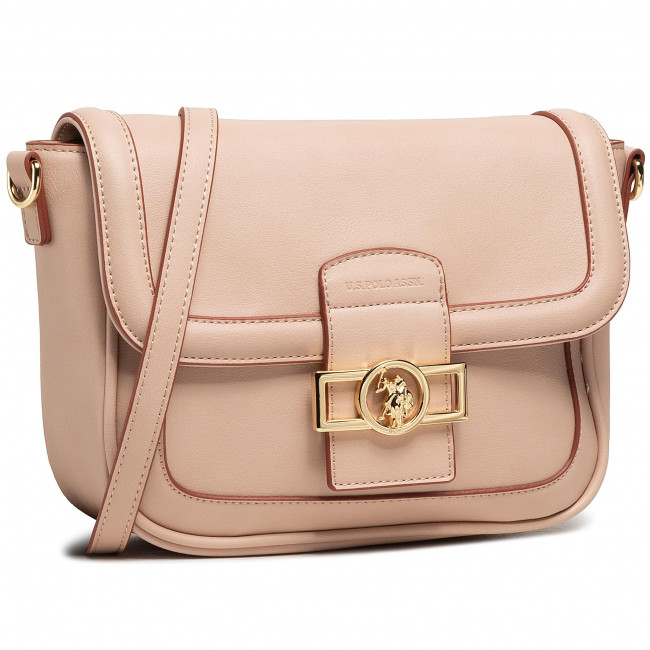 Torebka U.S. POLO ASSN. - Lockhart Flap Crossbody BEULK5061WVP462 Pale Pink