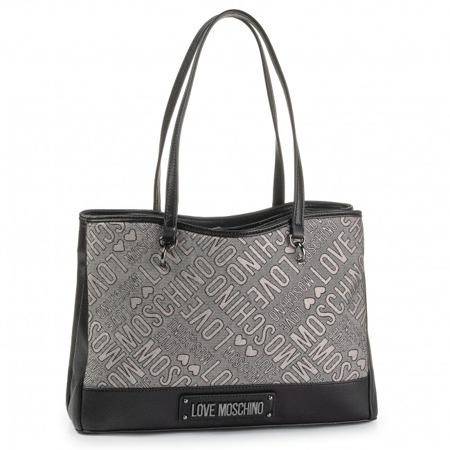 Torebka LOVE MOSCHINO - JC4214PP08KC190A Nero