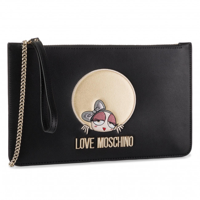 Torebka LOVE MOSCHINO - JC4313PP08KQ0000  Nero