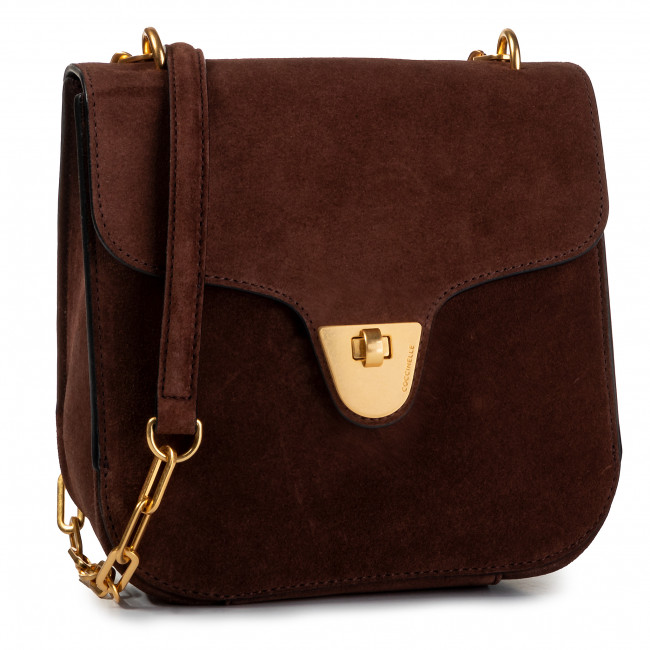 Torebka COCCINELLE - FB6 Florence Suede E1 FB6 15 01 01 Chocolate W05