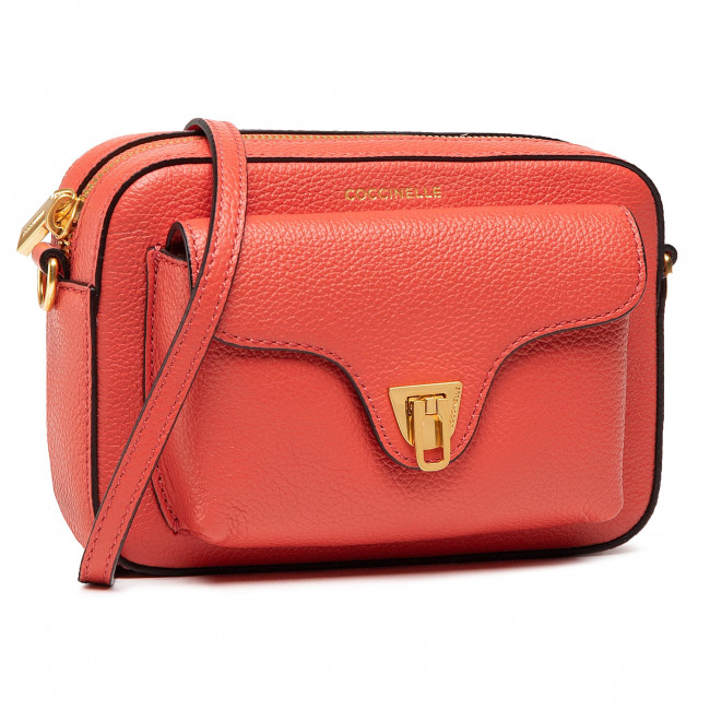 Torebka COCCINELLE - HF6 Beat Soft E1 HF6 55 04 01 Coral Red R34