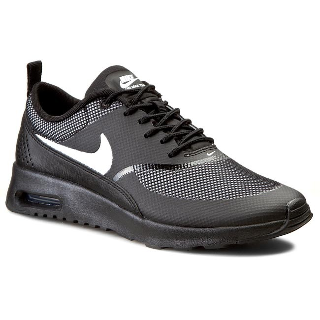 a147d1fb Buty NIKE - Air Max Thea 599409 017 Black/White - Sneakersy - Półbuty -  Damskie - eobuwie.pl