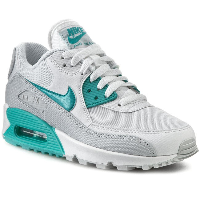 Buty NIKE - Air Max 90 Essential 616730 109 White/Lt  Retro/Pure Platinum