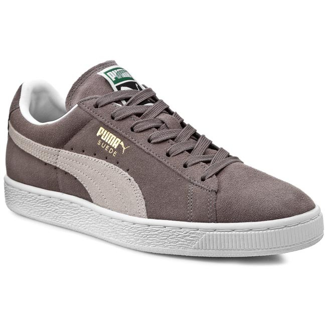 2f1b4df7 Sneakersy PUMA - Suede Classic + 352634 66 Steeple Gray/White ...
