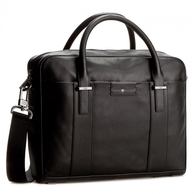 Torba na laptopa TOMMY HILFIGER - Bussiness Computer Bag AM0AM01445 002